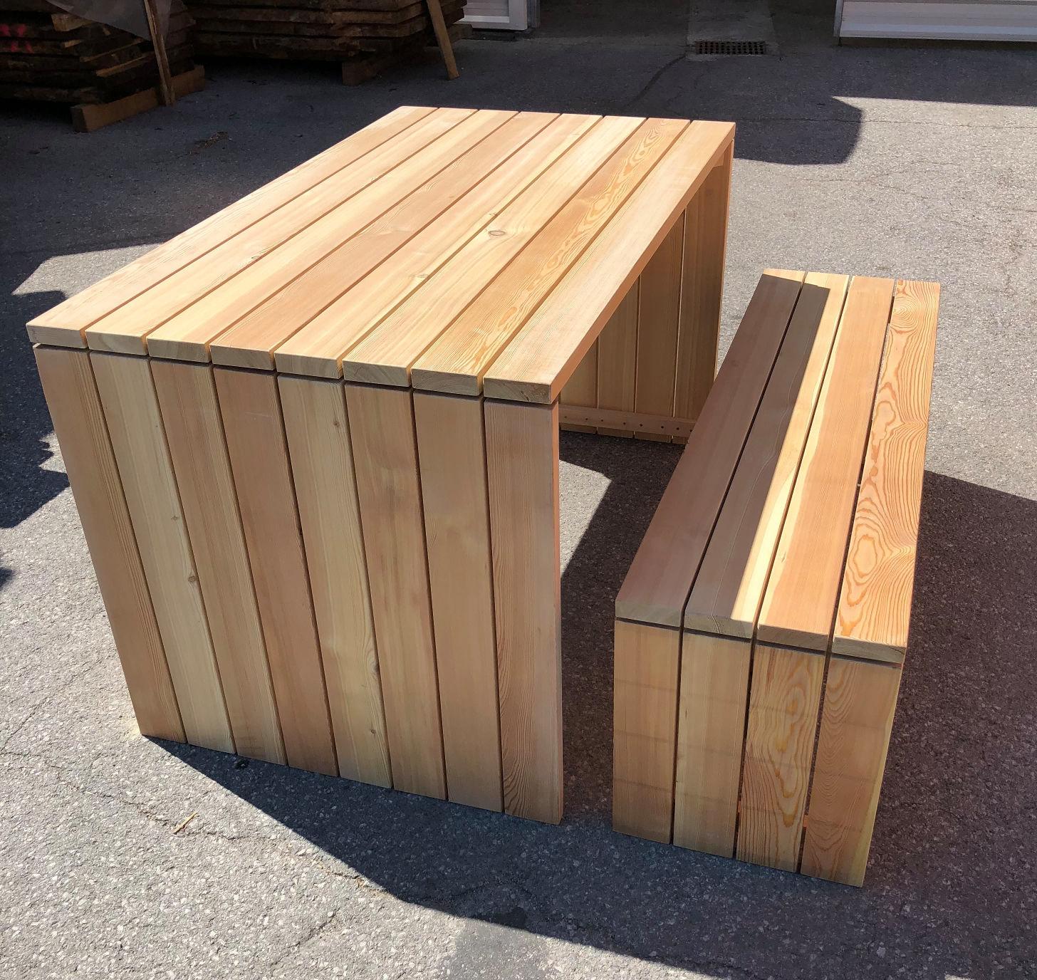 Končni leseni izdelki iz sibirskega macesna